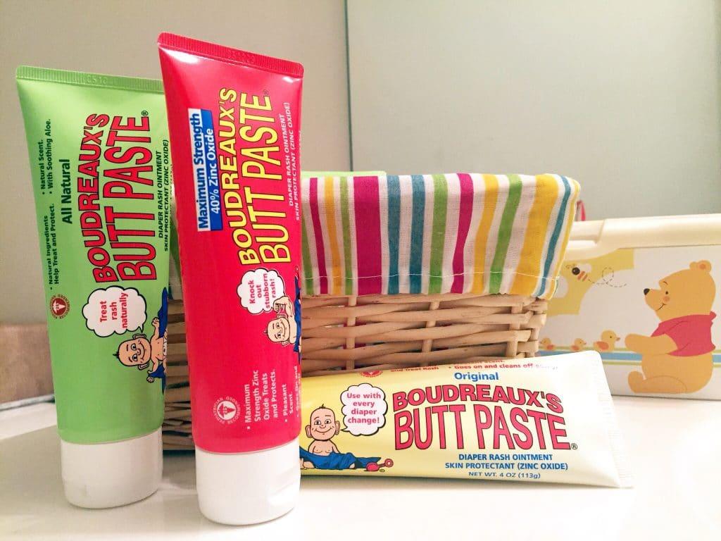 Boudreaux's Butt Paste for diaper rash relief