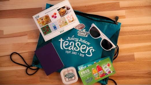 juicy juice teasers gift bag