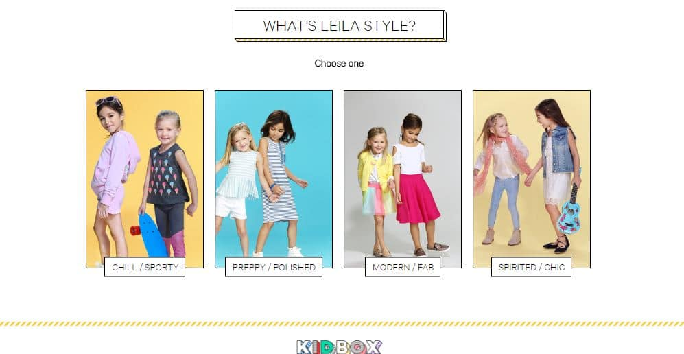 Kidbox - choose your personal style