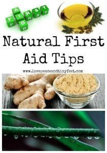 4 Natural First Aid Tips You Should Know
