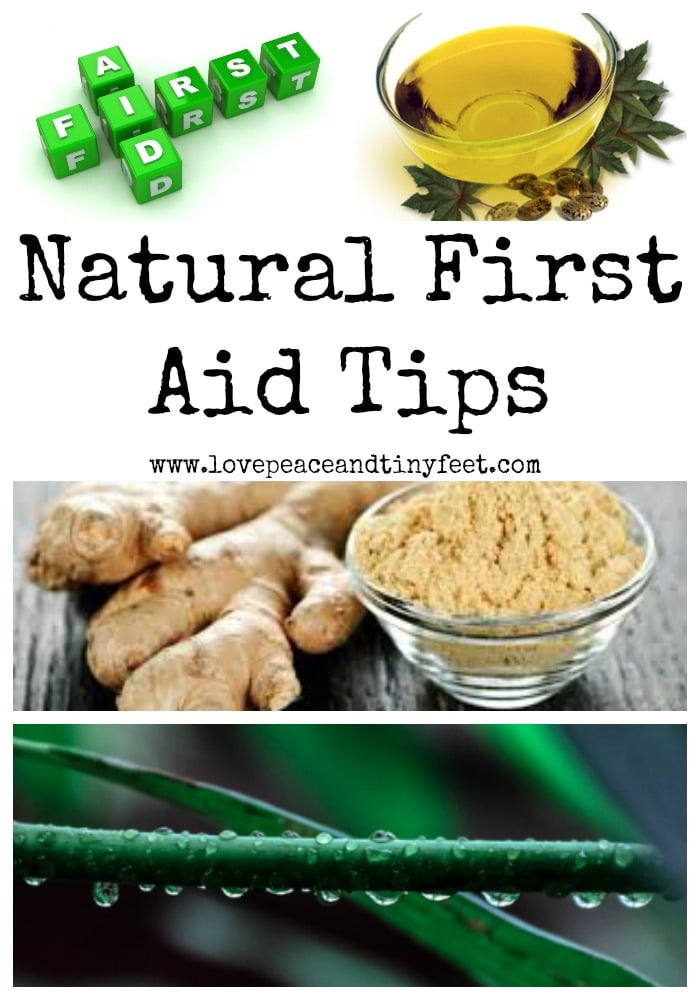 Natural First Aid Tips