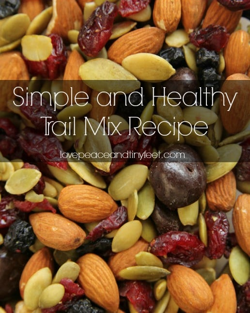Simple and healthy trail mix recipe
