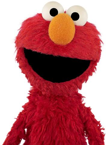 Elmo on Sesame Street on HBO