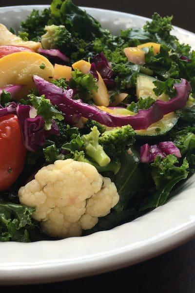 Tasty Tuesday: Citrusy Cauliflower Kale Salad Recipe