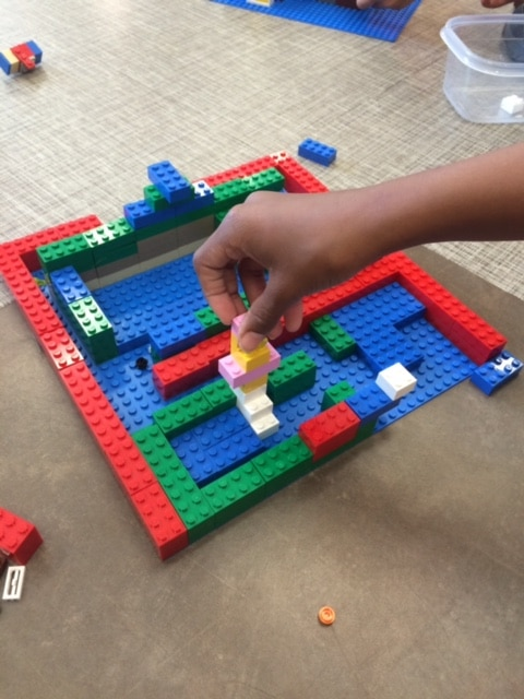 LEGO project at Play Well Engineering camp