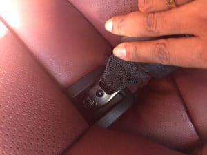 Car seat anchors