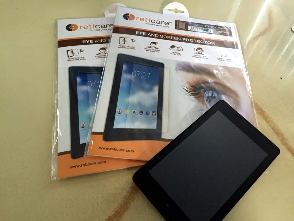 Reticare eye and screen protectors