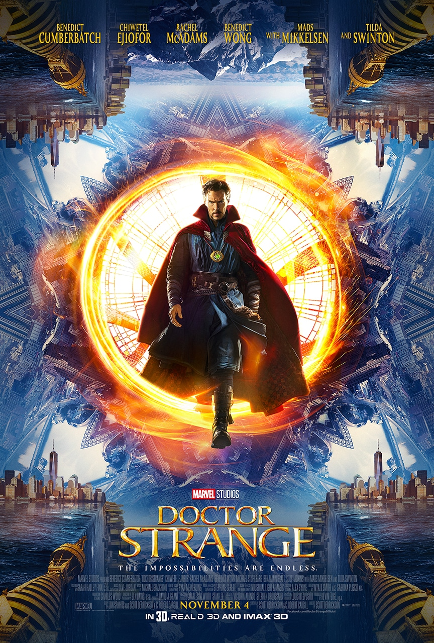 Marvel's Doctor Strange official poster