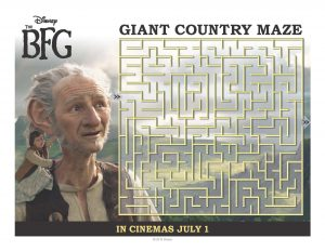 Giant Country Maze from Disney's The BFG
