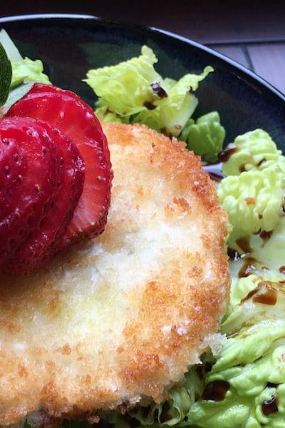 Tasty Tuesday Recipe-Mixed Green Salad w/ Warm Goat Cheese Croutons