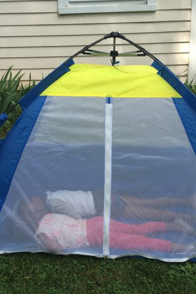 Hide and Go Seek with the One Touch Cabana by Pacific Play Tents
