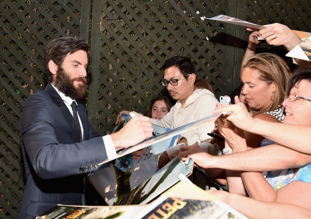 "Wes Bentley arrives at the world premiere of Disney's ""PETE'S DRAGON"" at the El Capitan Theater in Hollywood on August 8, 2016. The new film, which stars Bryce Dallas Howard, Robert Redford, Oakes Fegley, Oona Laurence, Wes Bentley and Karl Urban and is written and directed by David Lowery, has been drawing rave reviews from both audiences and critics. PETE'S DRAGON opens nationwide August 12, 2016. (Photo by Alberto E. Rodriguez/Getty Images for Disney ) *** Local Caption *** Wes Bentley"