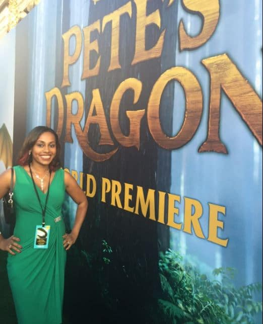 Ari Adams at Pete's Dragon Premiere