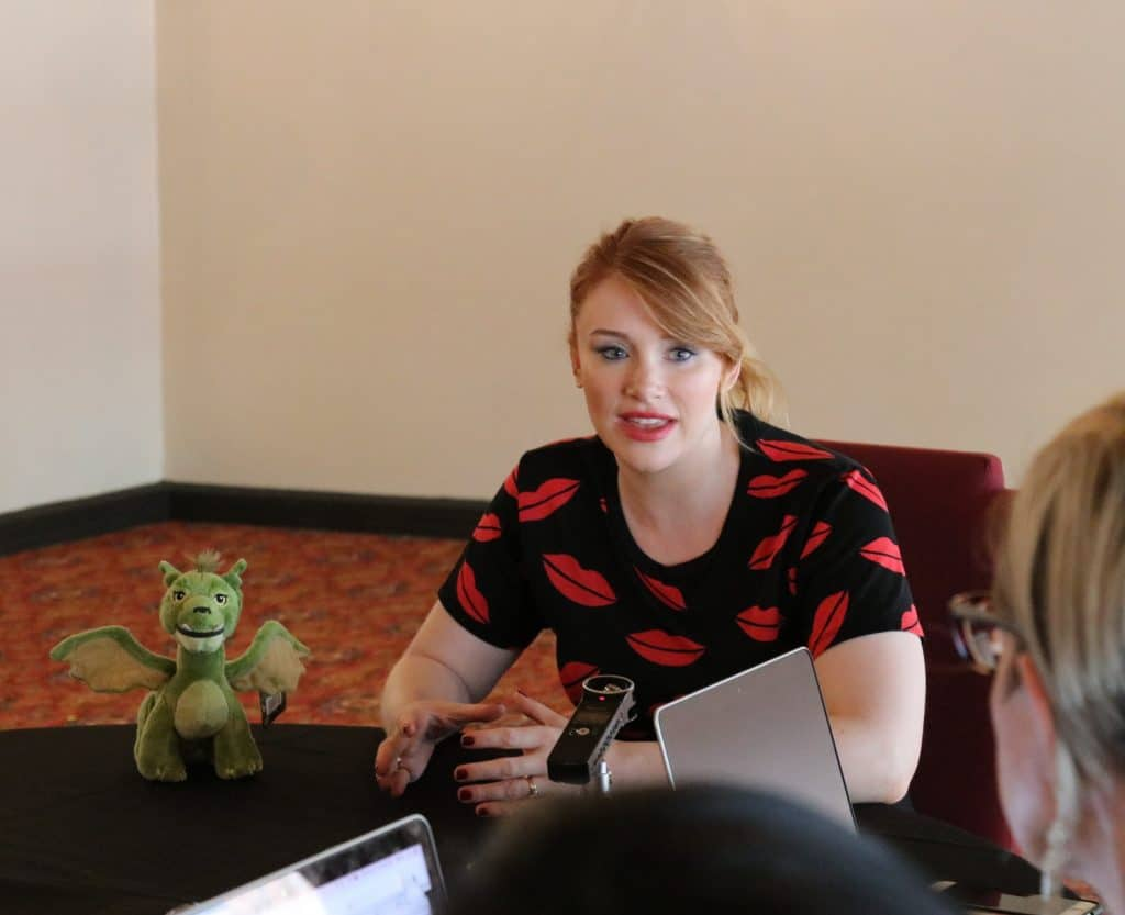 Bryce Dallas Howard on Pete's Dragon