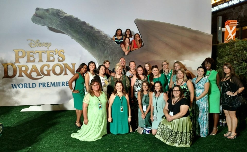 Pete's Dragon Event Bloggers