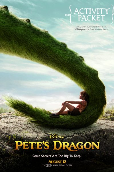 Pete's Dragon Educational Activity Packet & Coloring Sheets