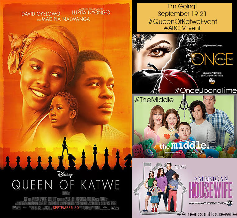 Queen of Katwe Event Blogger
