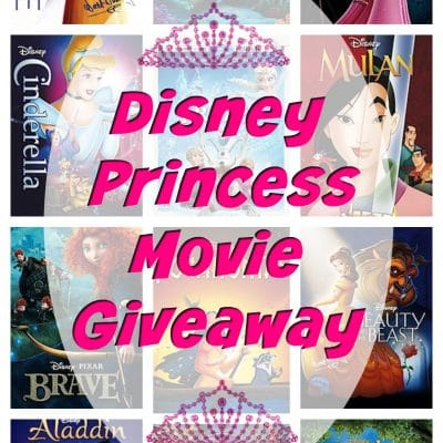 Disney Princess Movie Collection Giveaway!