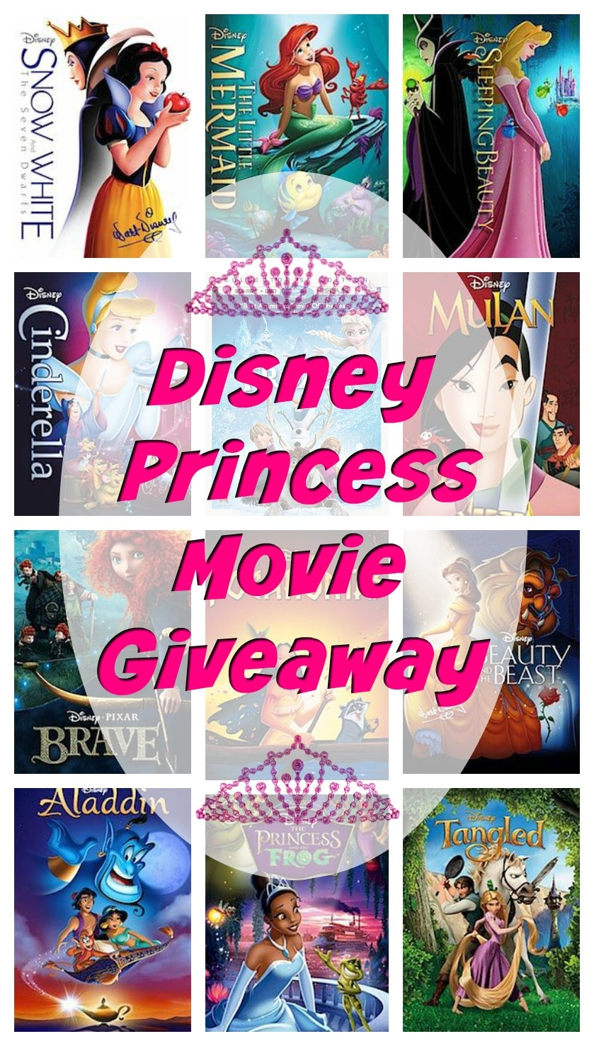 In honor of Disney's release of the Disney Princess Movie Collection Films from the vault at the same time, I have teamed up with a great group of bloggers to offer you this amazing giveaway. We have the complete Disney Princess Movie Collection available for you to win. All of the following Disney Princess Films are out of the vault until October 17th. So hurry and enter to win below and make sure you pick up your copies before they go back in the vault.