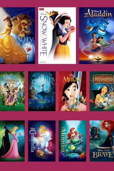 25th Anniversary of Beauty and the Beast – All Disney Princess Films Available for the First Time EVER!