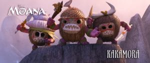 Pirate characters in Moana - The Kakamora