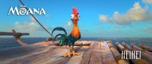 hei hei the rooster from Moana