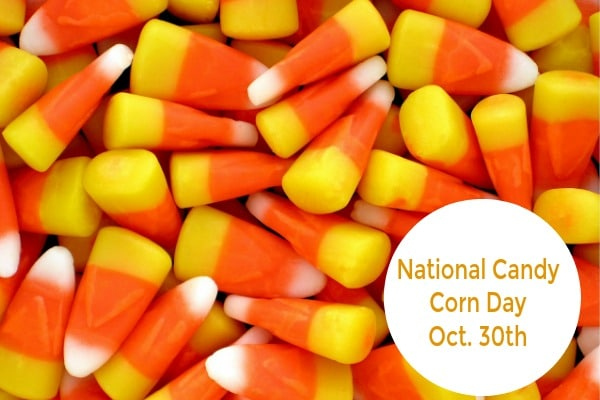 National Candy Corn Day is October 30th