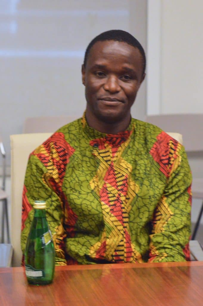 The Realchess coach Robert Katende, inspiration of the movie Queen of Katwe