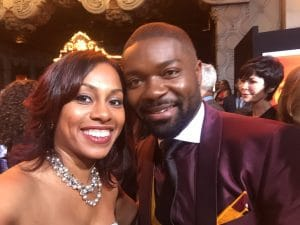 David Oyelowo and Blogger Ari Adams
