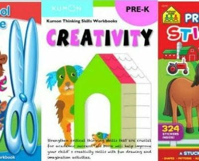 50 Common Core Pre-K & Preschool Workbooks on Amazon