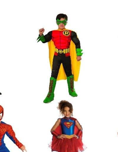 50 Affordable Boys and Girls' Superhero Costume Ideas