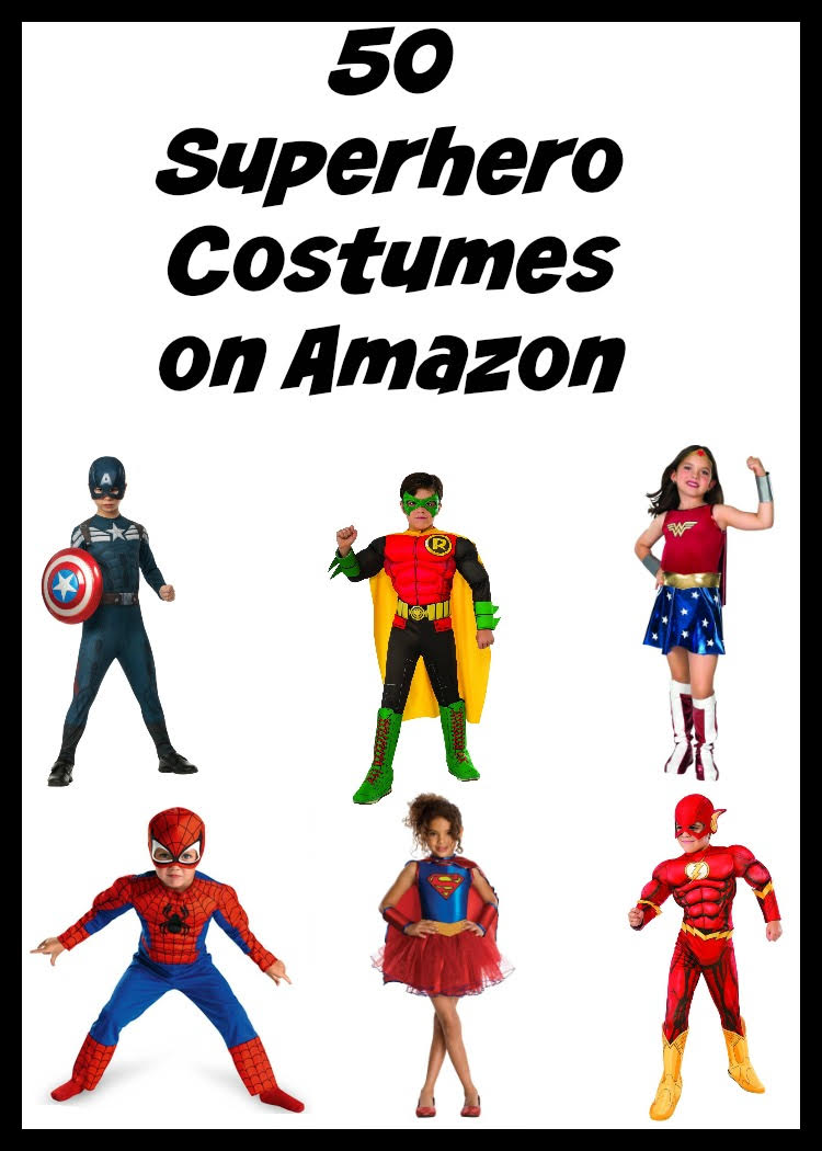 If youu0027re little one is aiming for a superhero costume this year hereu0027s  sc 1 st  Love Peace and Tiny Feet & 50 Affordable Boys and Girlsu0027 Superhero Costume Ideas