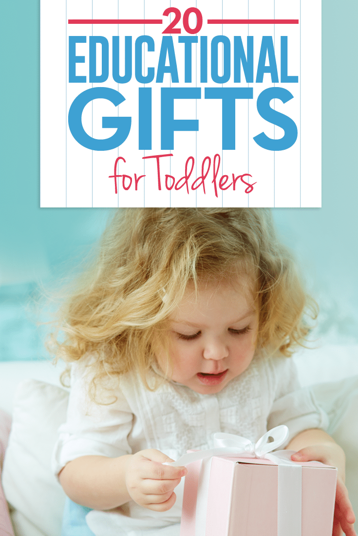 Whether you're stumped for toddler gift ideas or are specifically seeking educational gifts for toddlers, you're sure to find the perfect gift on this list!