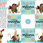 Moana Match Game