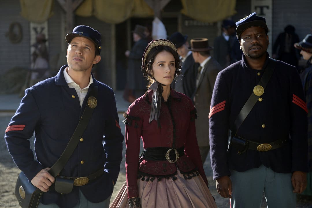 NBC Timeless interview with Abigail Spencer