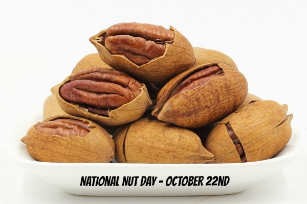 National Nut Day is Oct. 22nd