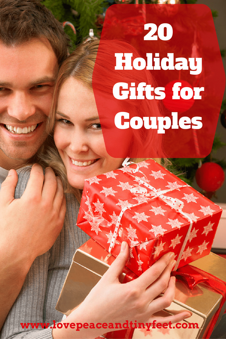 Do you need a great gift idea for a couple? Whether you need an engagement gift, an anniversary gift, a holiday gift or a just-because gift, you're sure to find the perfect present on this list of gift ideas for couples. Celebrate your favorite couple with one of these great gifts.