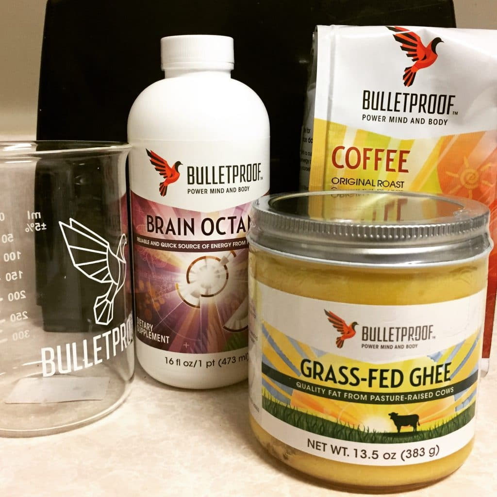 The bulletproof coffee recipe ingredients