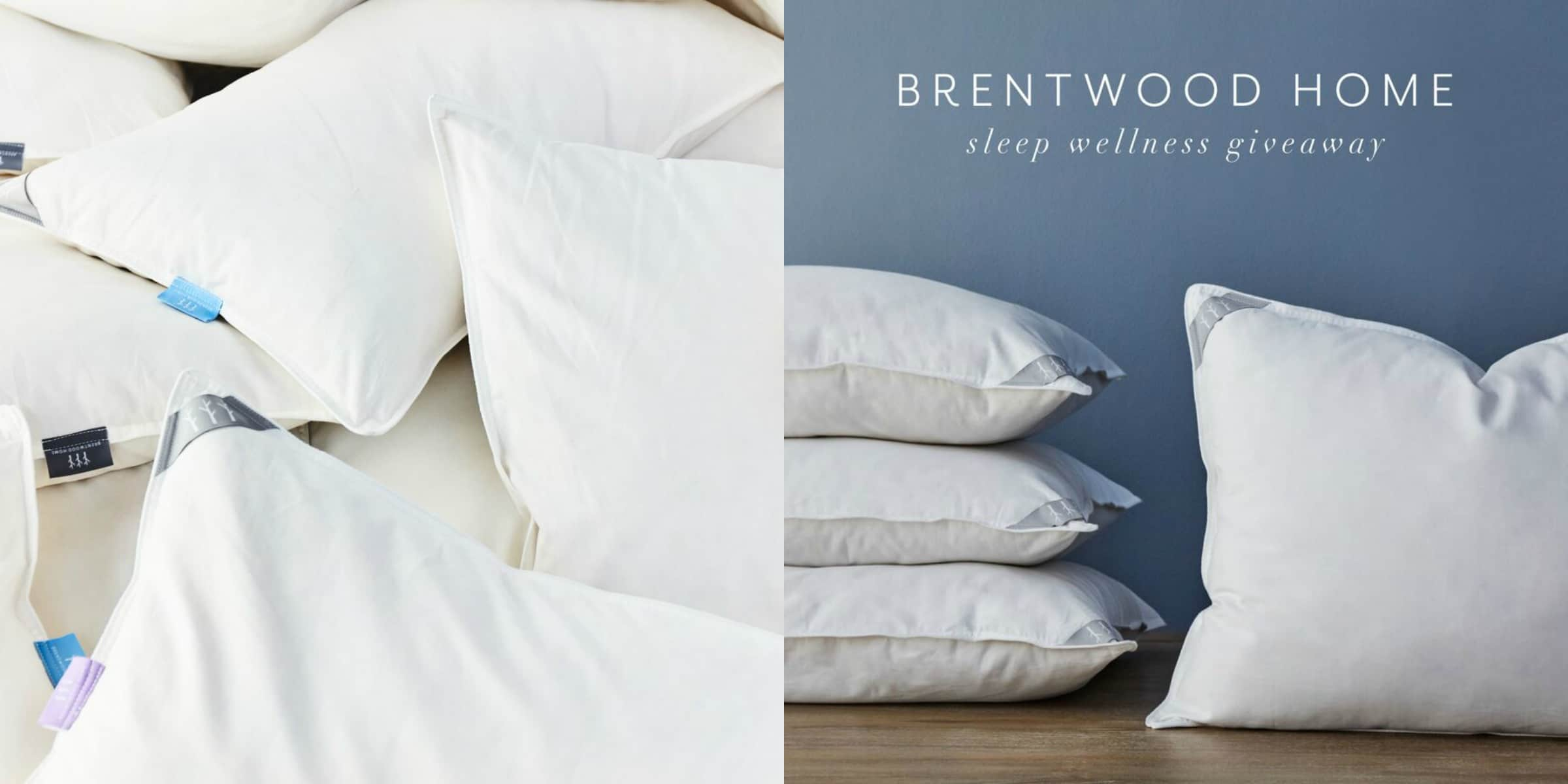 Brentwood home pillow giveaway