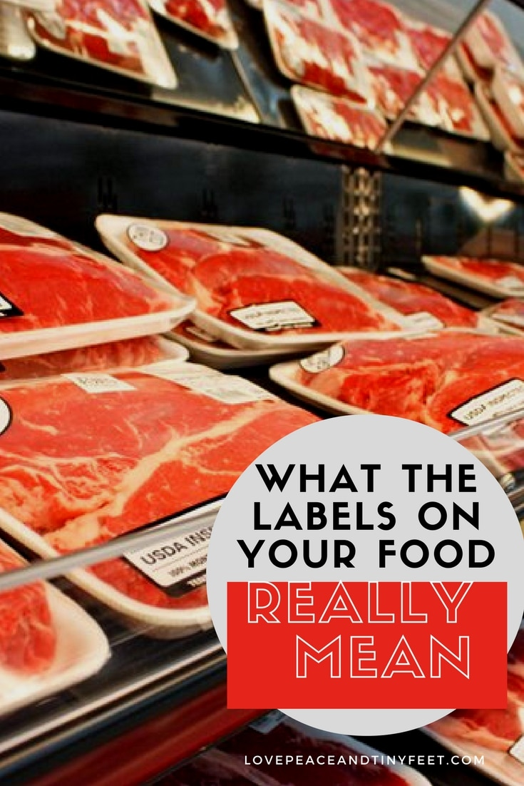 Ever wondered what the labels on your food actually mean, like organic or grassfed? Here are some common terms you'll find on meat products & their meanings