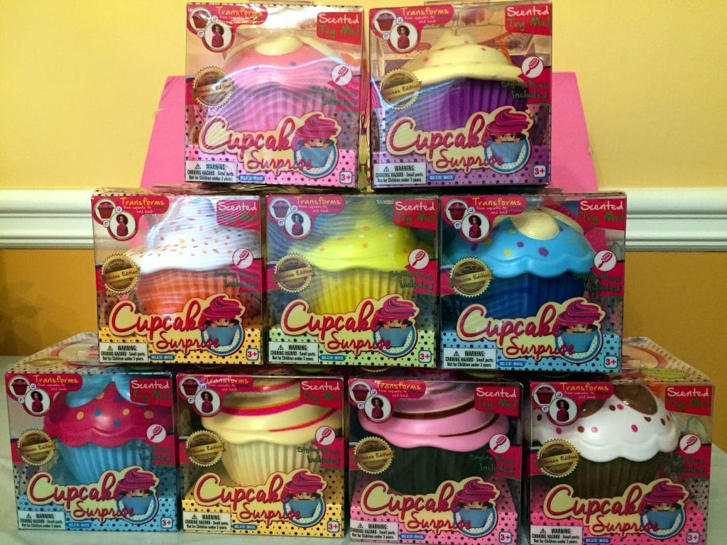 Cupcake Surprise Doll Collection slumber party gift