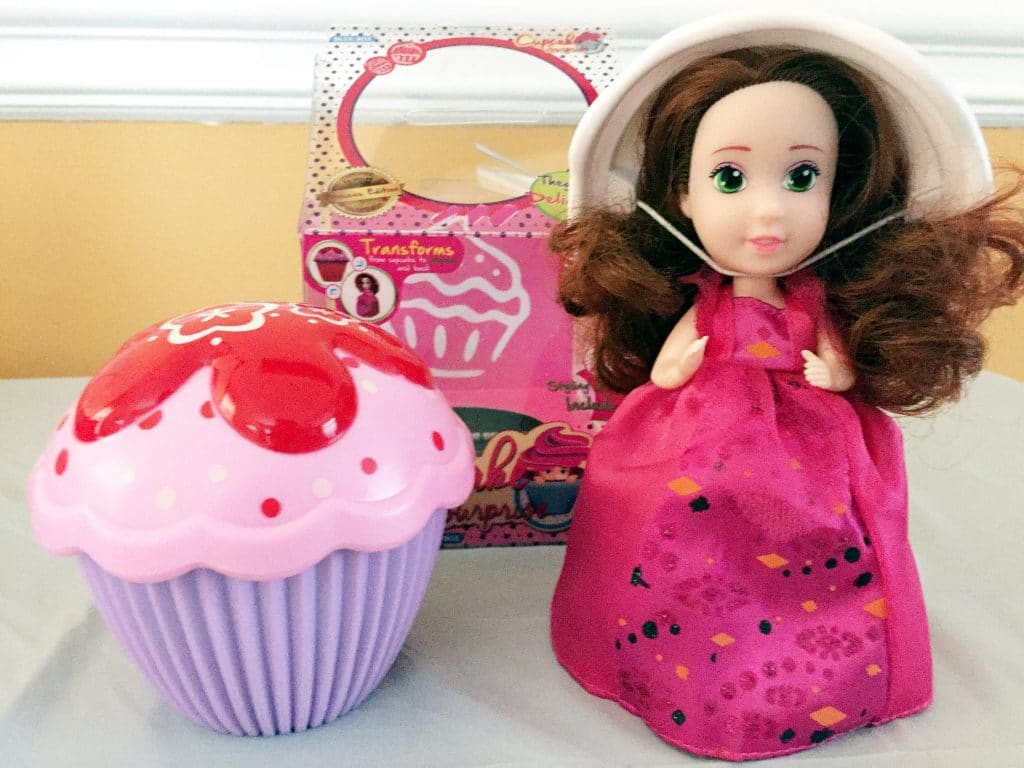 Cupcake surprise dolls make great slumber party favors or gifts for girls