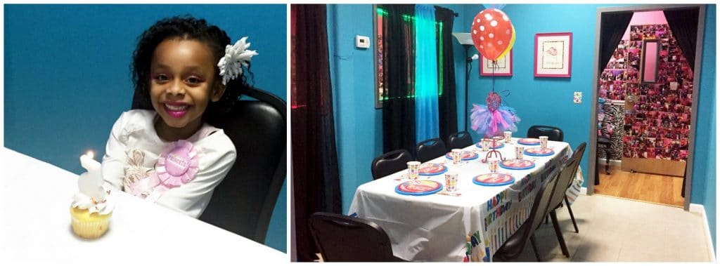 Birthday parties at dazzling diva day spa