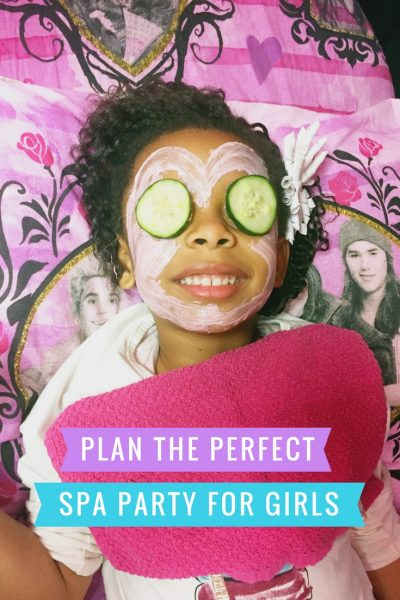 The Perfect Spa Party for Kids at Dazzling Diva Day Spa