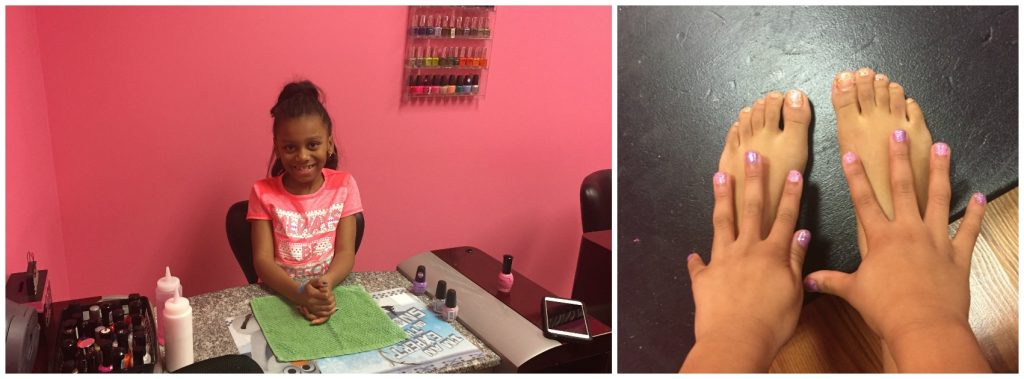 dazzling diva day spa nail salon for kids