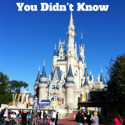 15 Hidden Facts About Disney World You Didn't Know