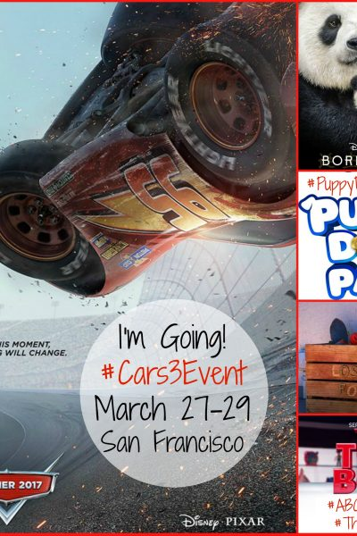 I'm going to San Francisco! Follow my journey at the #Cars3Event!