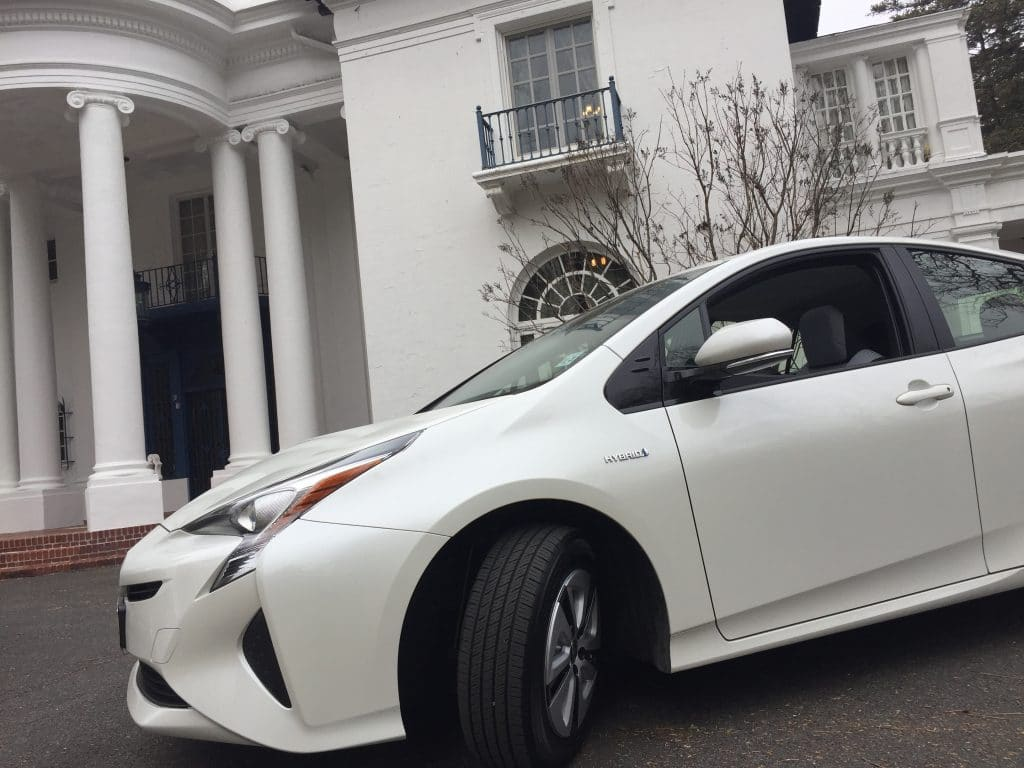 Toyota Prius at Villa Lewaro