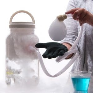 dry ice smoke bubbles easy science project kit