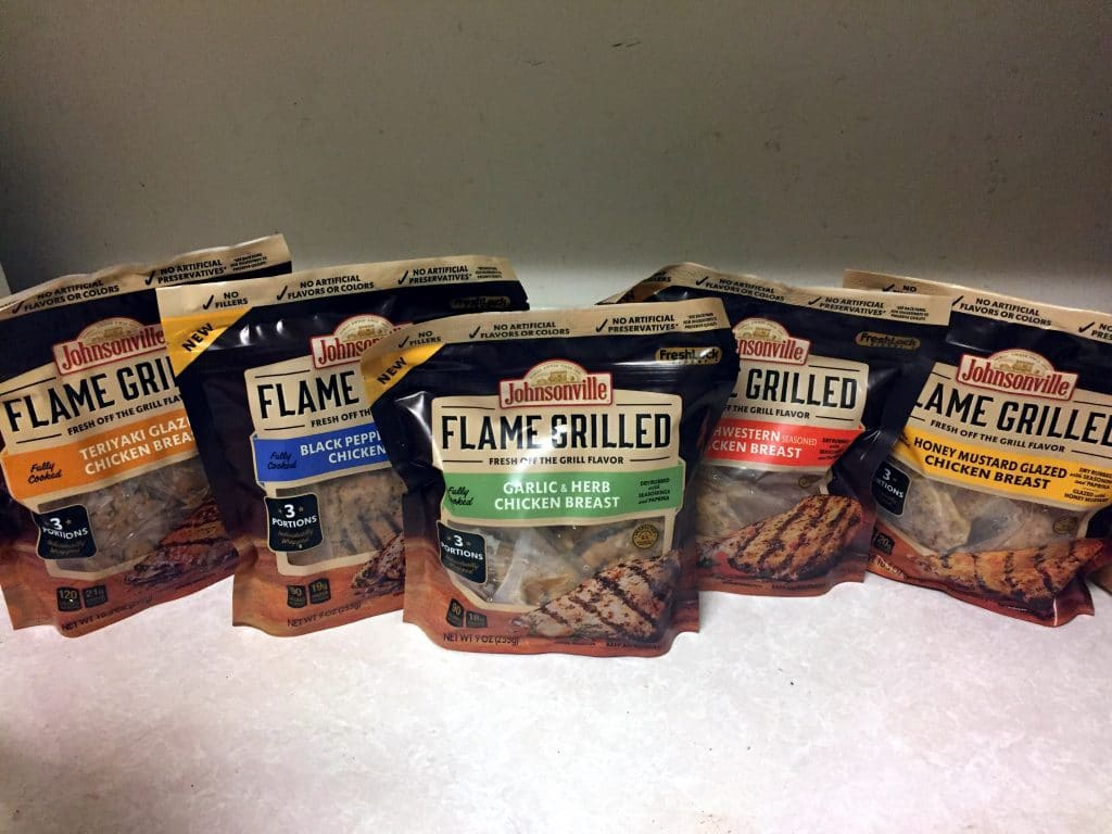 Johnsonville's flame grilled chicken